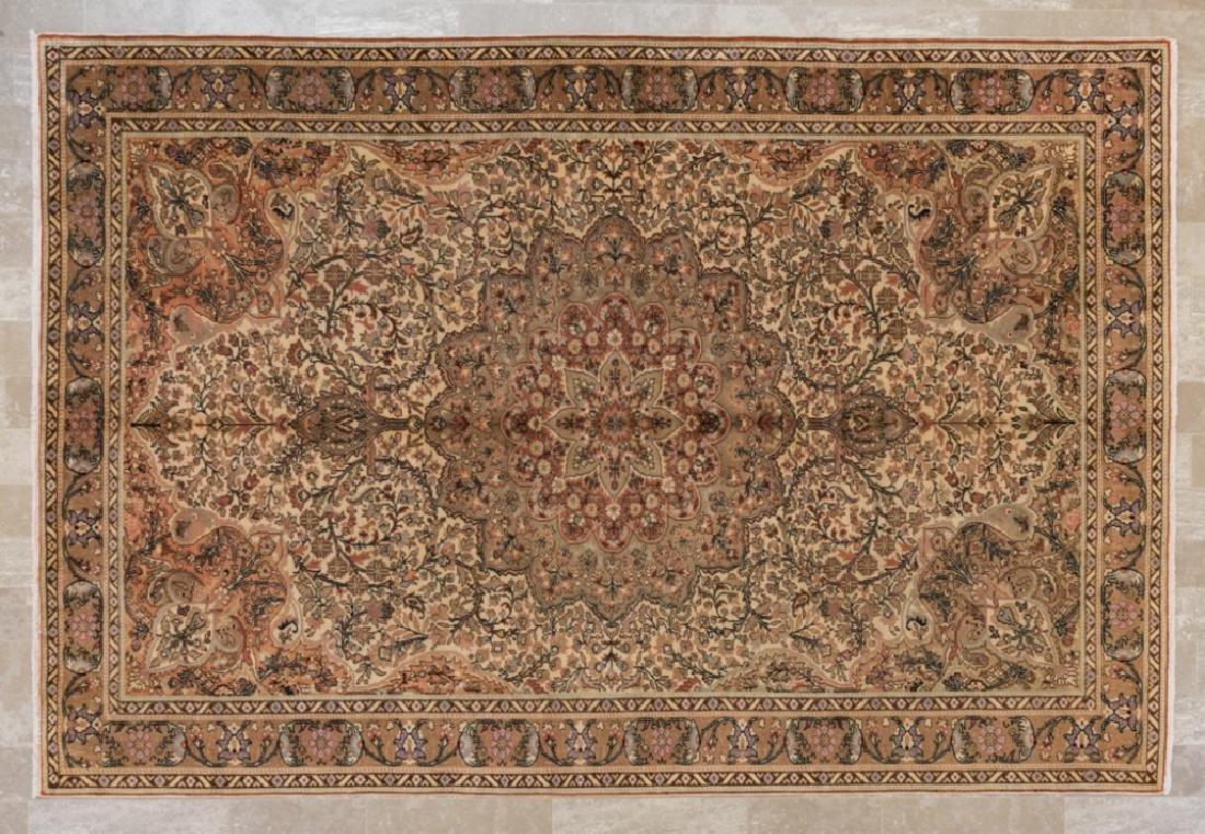 """Antique Turkish Keisari 6'8"""" x 9'10"""" Rug"""