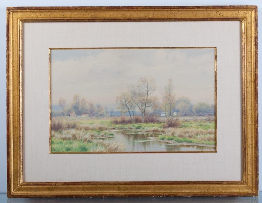 W.C. Fitler Watercolor Landscape