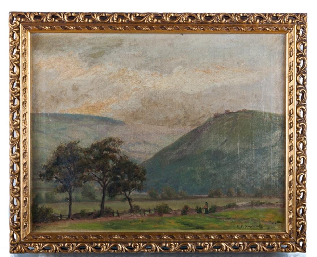 F.E. Urquhart Oil on Canvas Painting