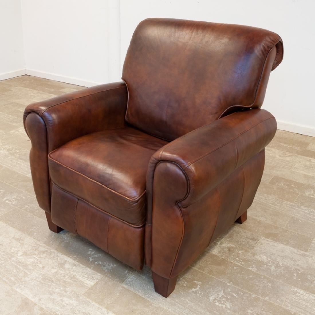 Leather Recliner Woodworth Wooden Industries