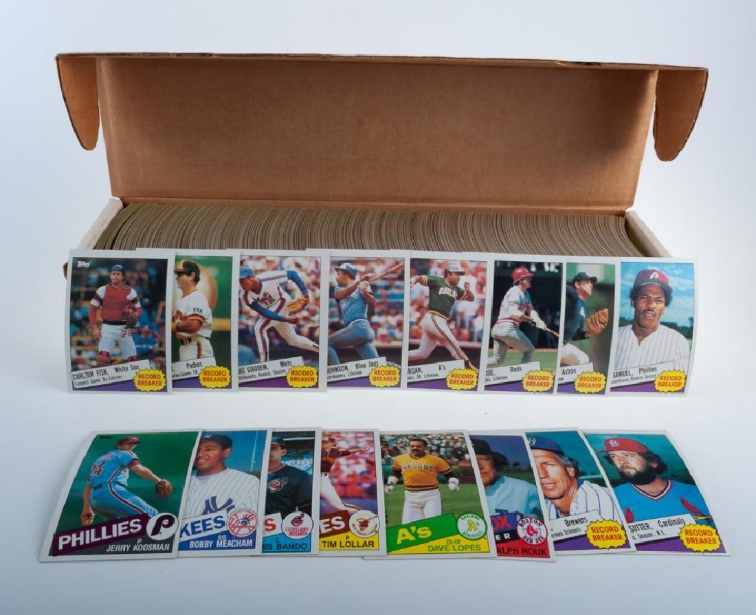 1985 Topps Hand Collated Baseball Cards