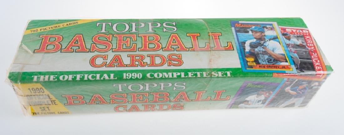 1990 Topps Baseball Cards Complete Set
