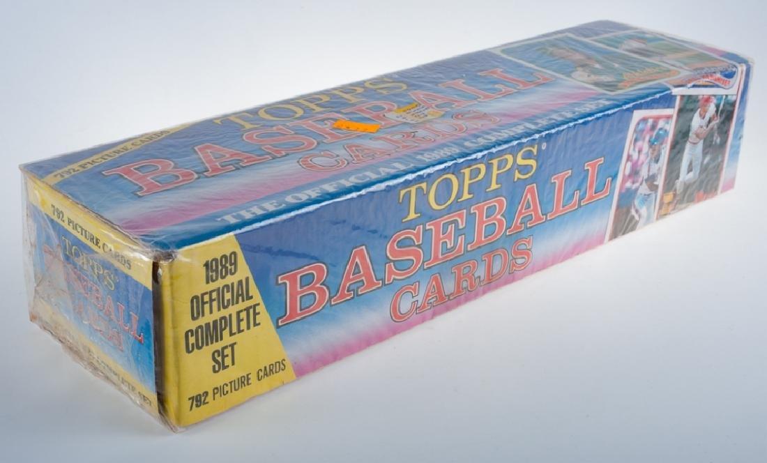 1989 Topps Baseball Cards Complete Set