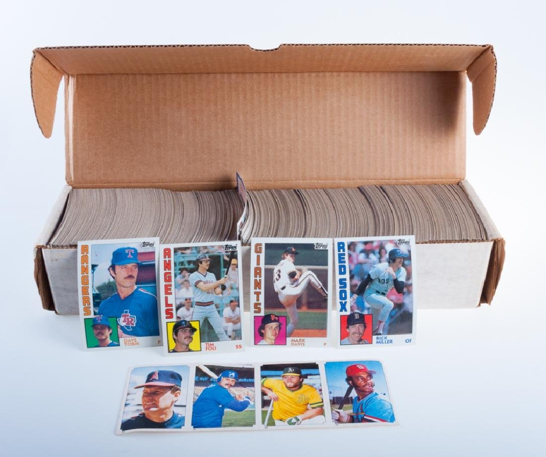 1984 Topps Hand Collated Baseball Cards