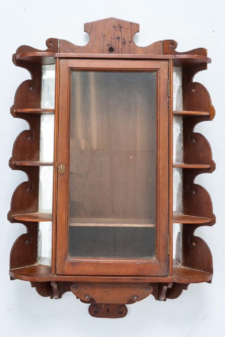 Wall Hung Display Cabinet, 19th Century