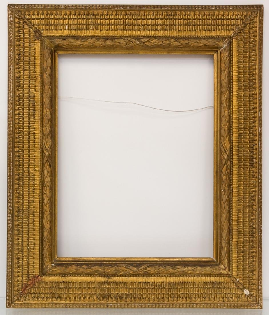 Stanford White Carved & Gilt Wood Painting Frame