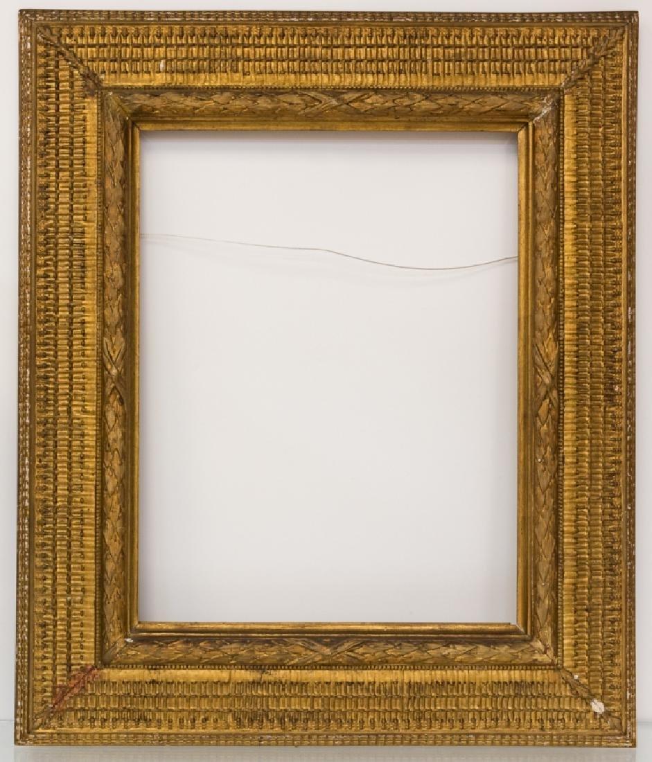 Stanford White Carved & Gilt Wood Painting Frame