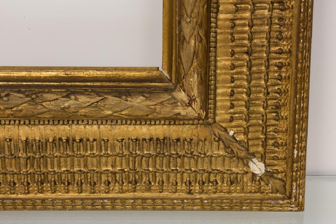 Stanford White Carved & Gilt Wood Painting Frame - 2