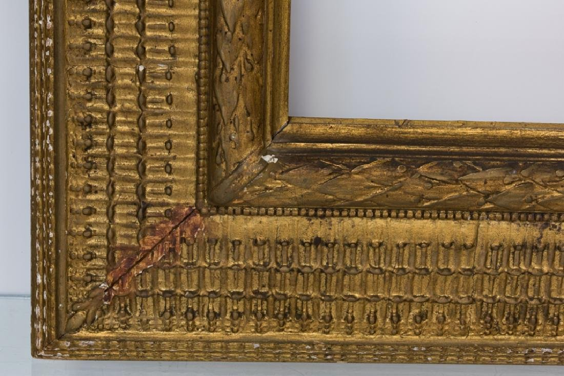 Stanford White Carved & Gilt Wood Painting Frame - 4