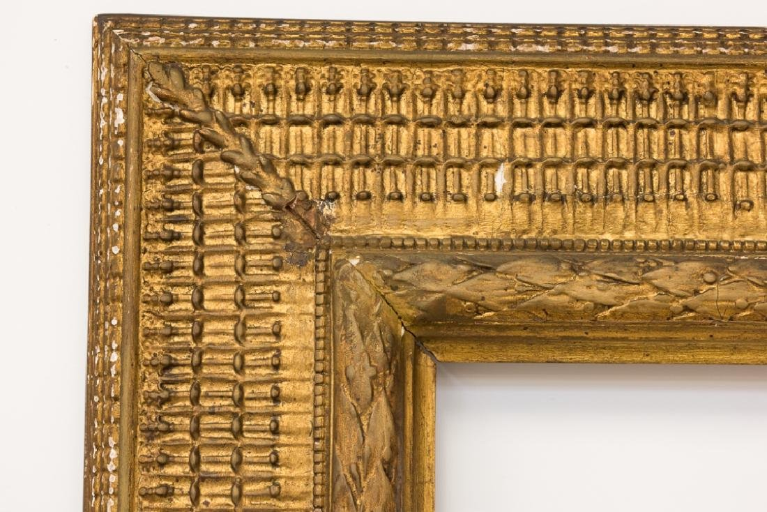 Stanford White Carved & Gilt Wood Painting Frame - 6