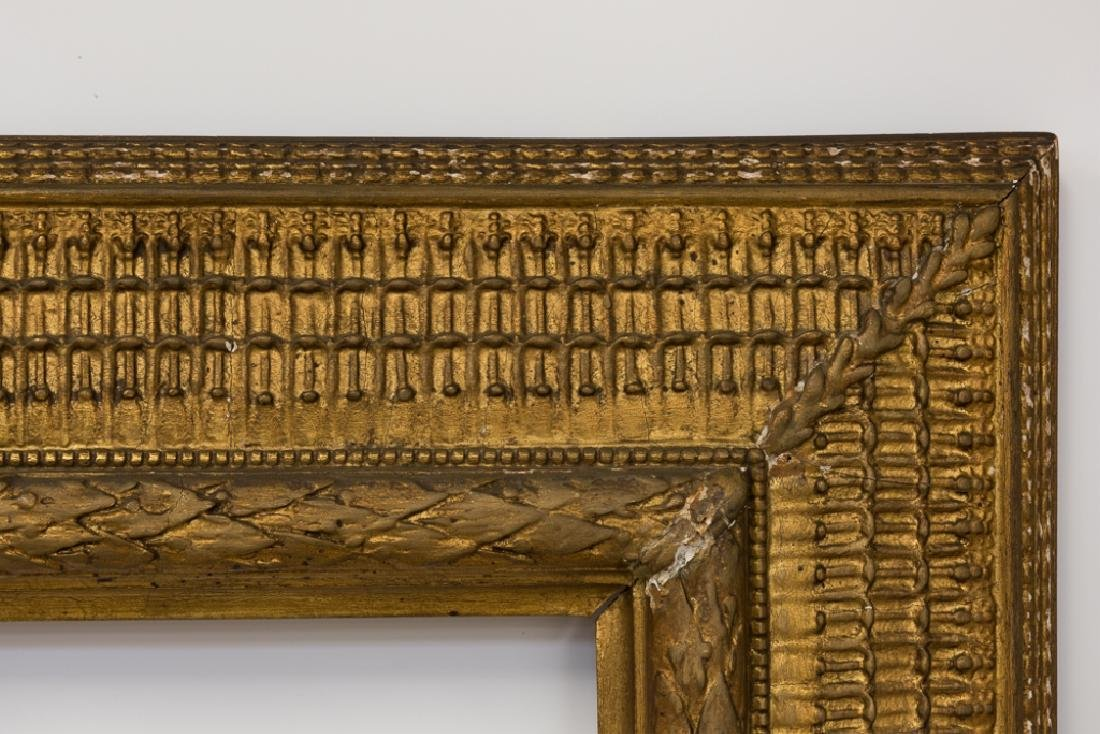 Stanford White Carved & Gilt Wood Painting Frame - 8