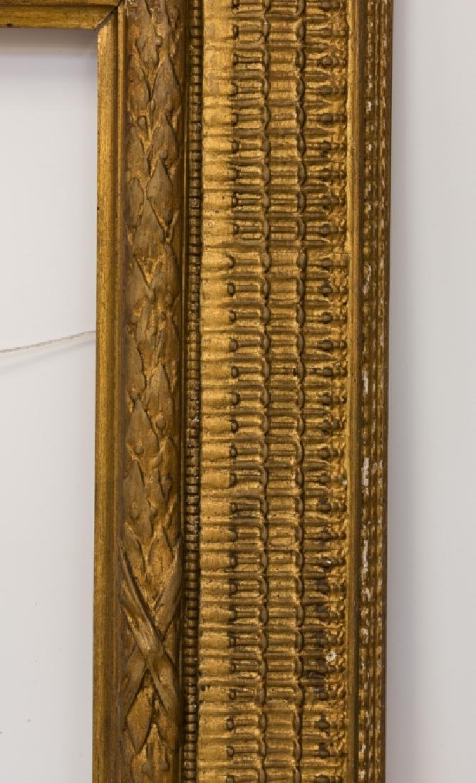 Stanford White Carved & Gilt Wood Painting Frame - 9