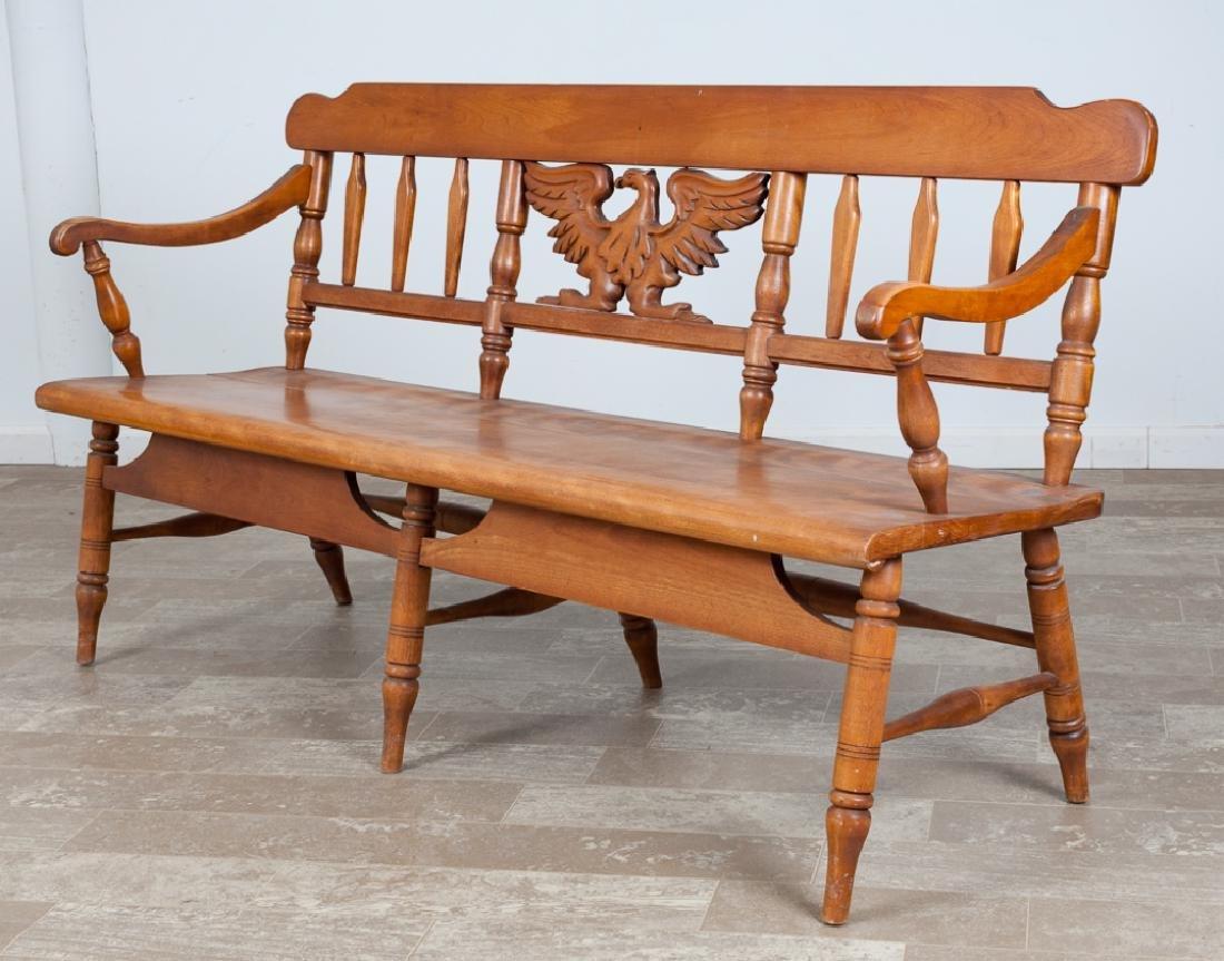 Windsor Bench, Cushman Colonial Creations
