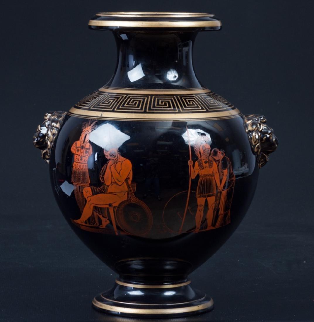 Greek Style Porcelain Vase