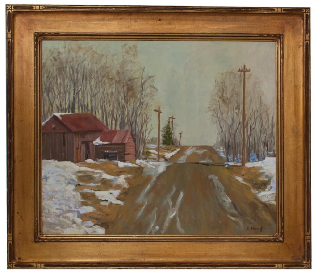 Rudolf Stumpf Oil on Canvas Painting