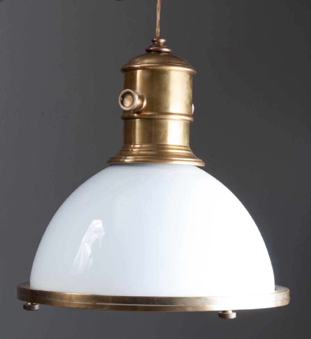 Visual Comfort & Co. Brass Pendant Ceiling Light
