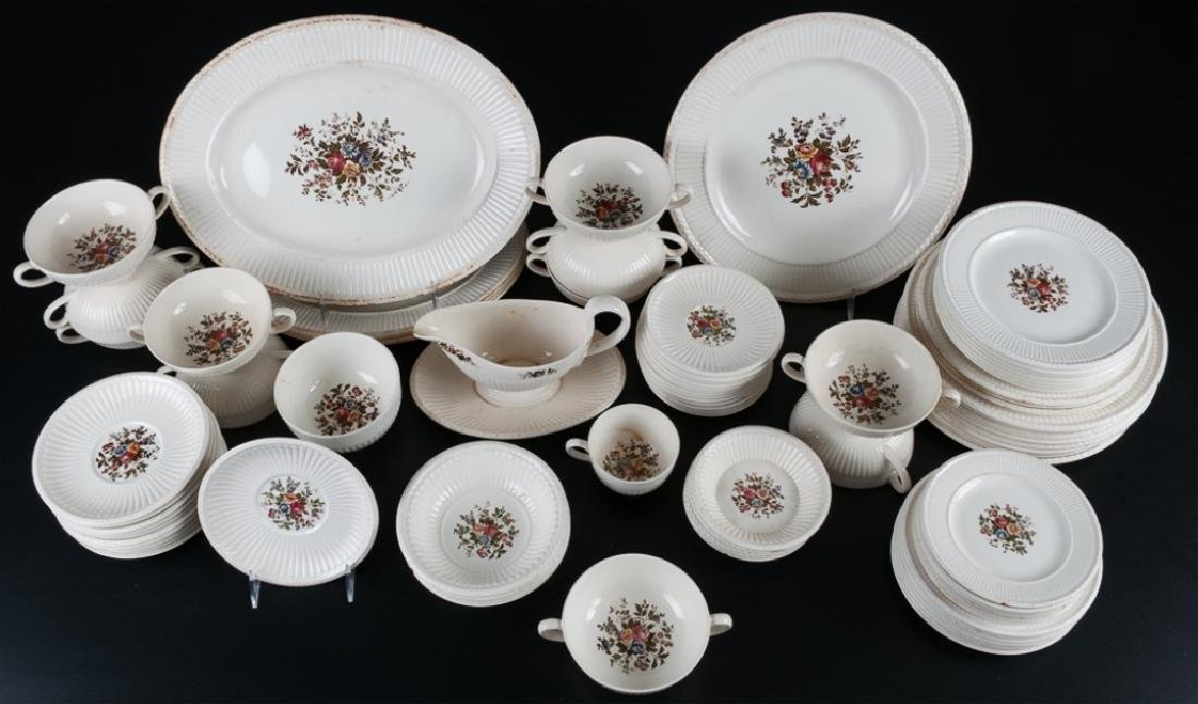 Conway by Wedgwood Partial Dinner Service 85 p.