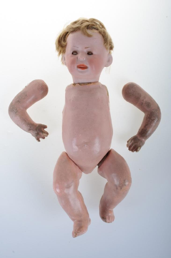 A. Marseille Bisque Head Boy Doll