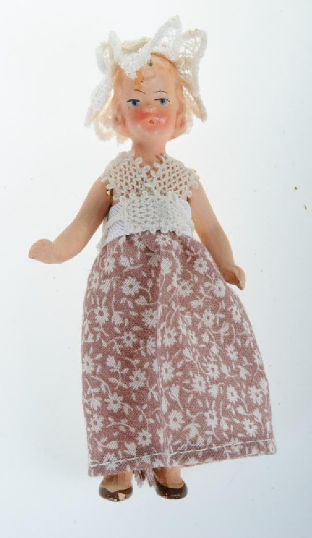 Bisque Doll House German Porcelain Doll