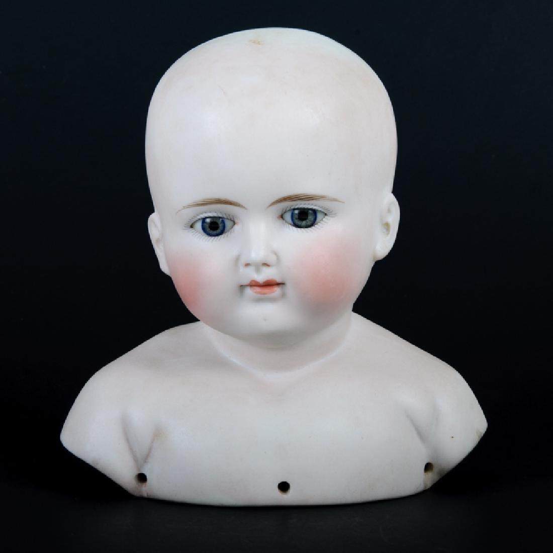 Doll Shoulder Head