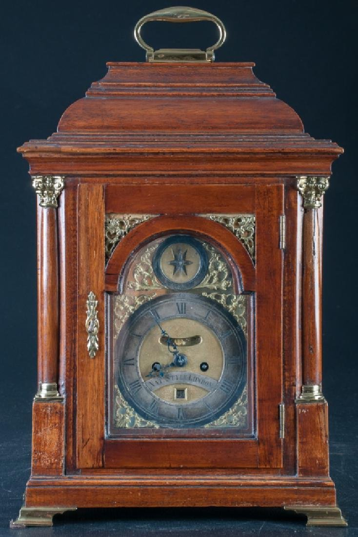 Nathaniel Style, London, Carriage Mantle Clock