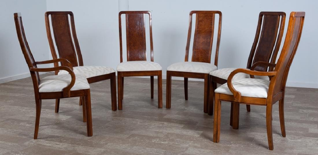 Thomasville High Back Dining Chairs Group