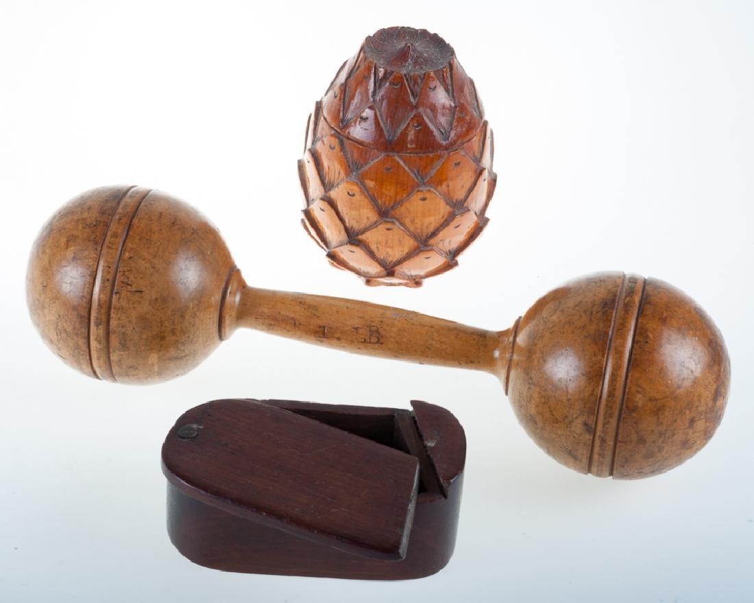 Treenware Decorative Items Trio