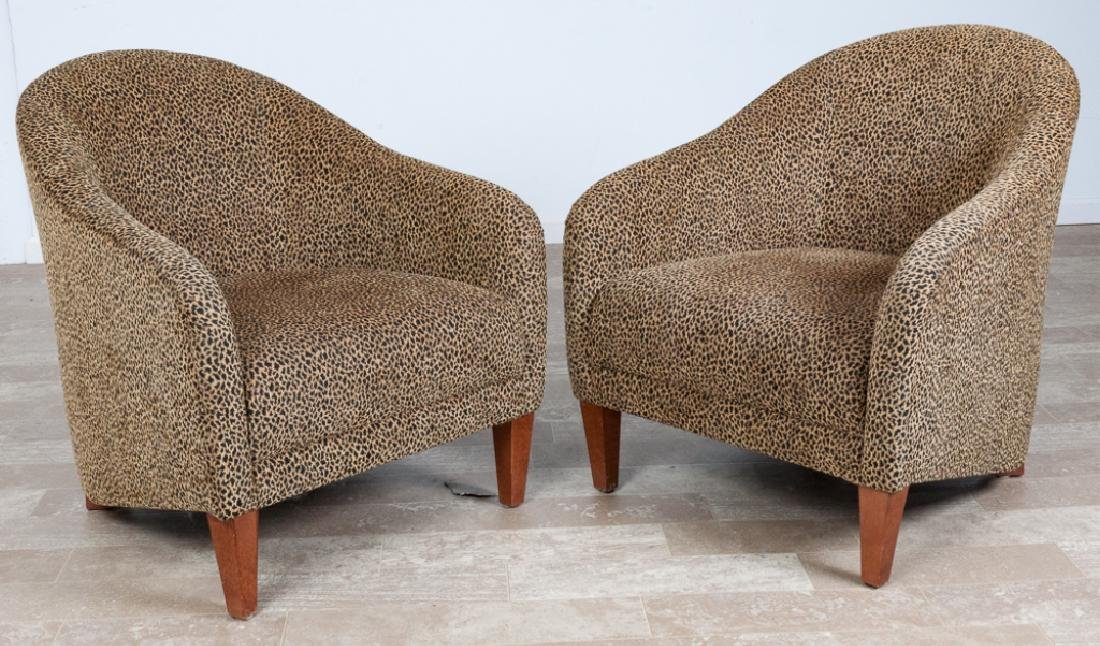 Precedent Furniture Club Chairs Pair