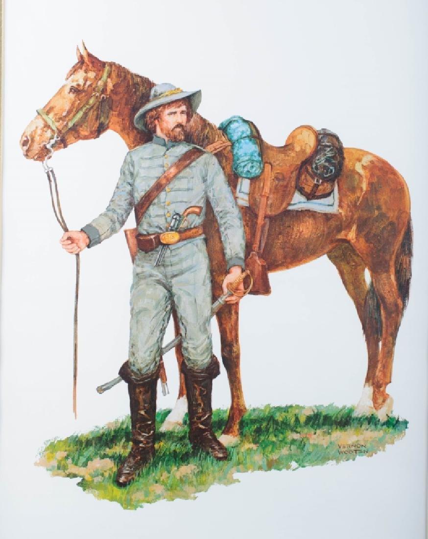 1st Virginia Cavalry Civil War Print