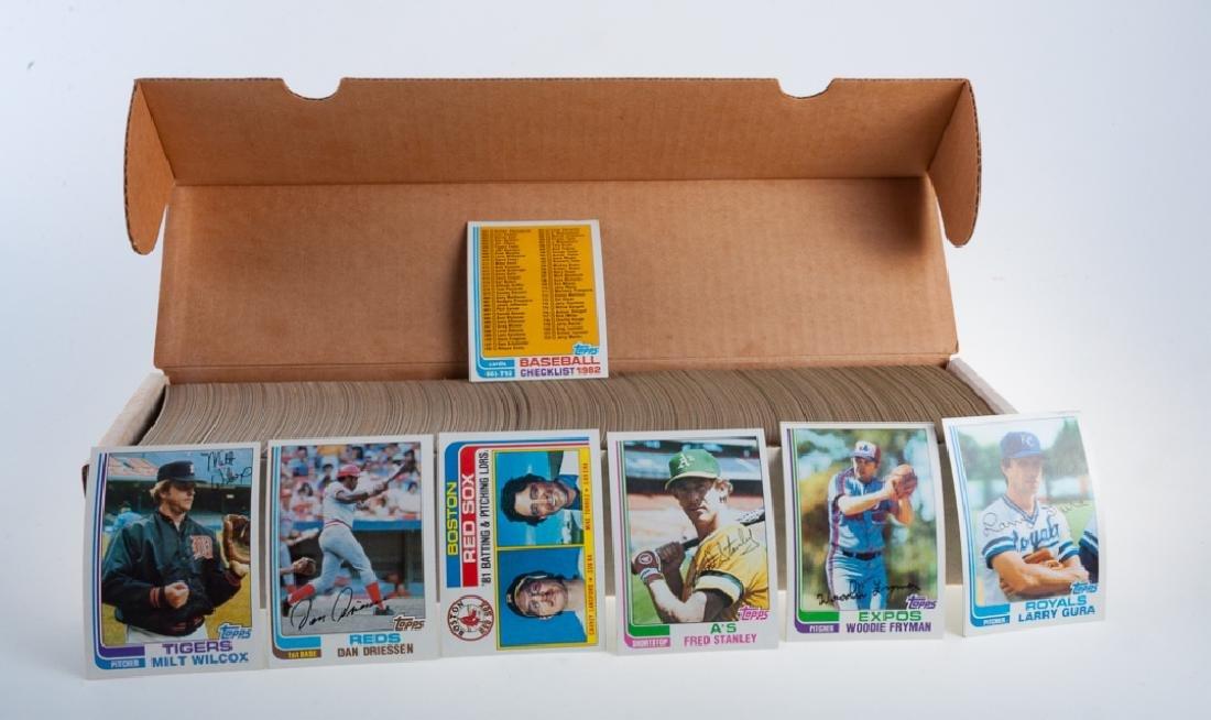 1982 Topps Hand Collated Baseball Cards