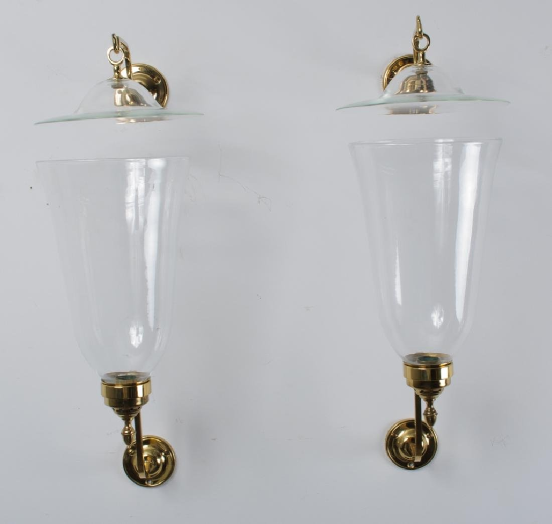 Virginia Metalcrafters Brass Bruton Wall Sconces