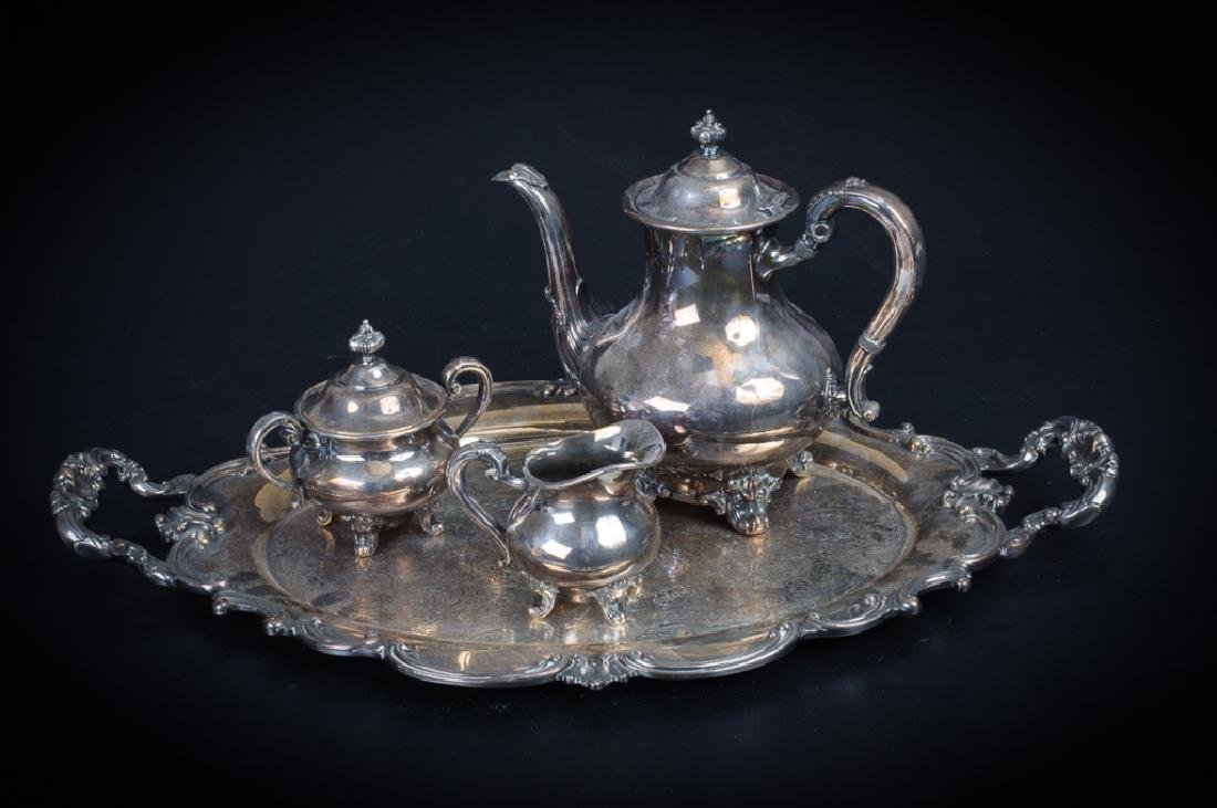 Reed & Barton Regent Silver Plated Coffee / Tea Se