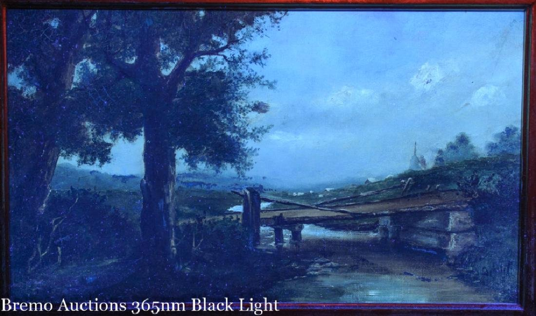 C.A. Foster Oil on Canvas Painting - 6
