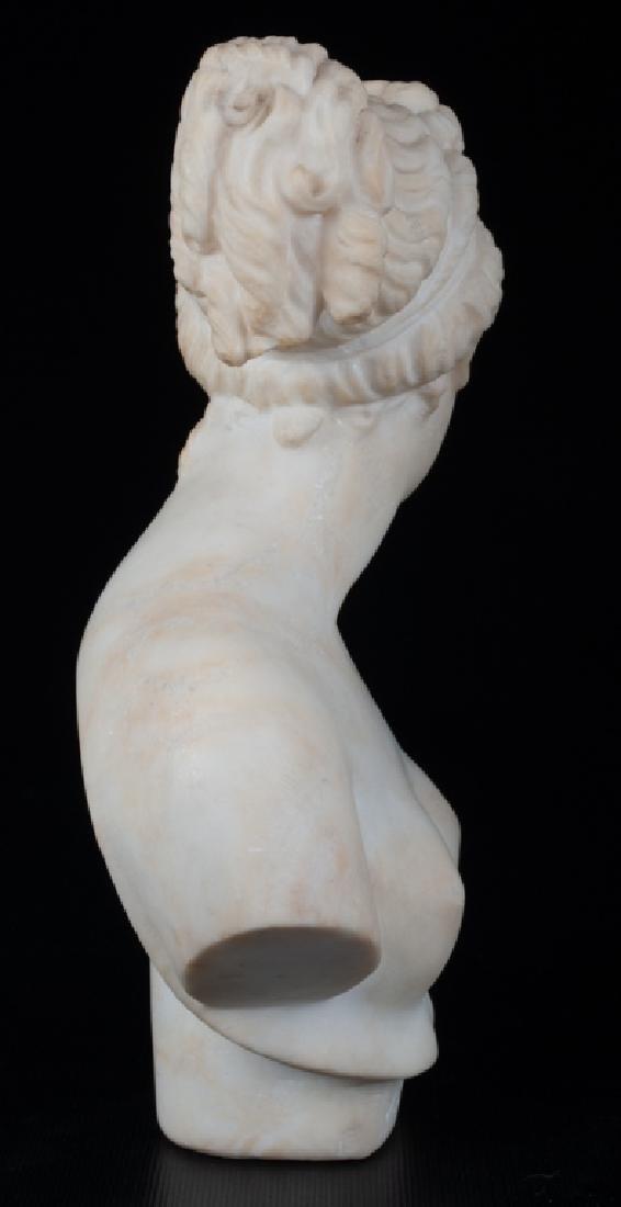 V. Canova Marble Bust of Venus or Diana 19th C - 3
