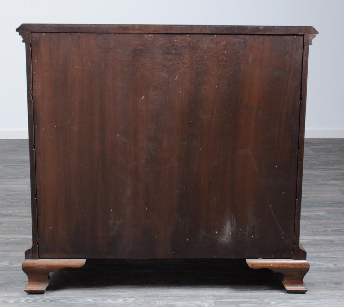 Chippendale Style Cherry Block Front Chest - 5