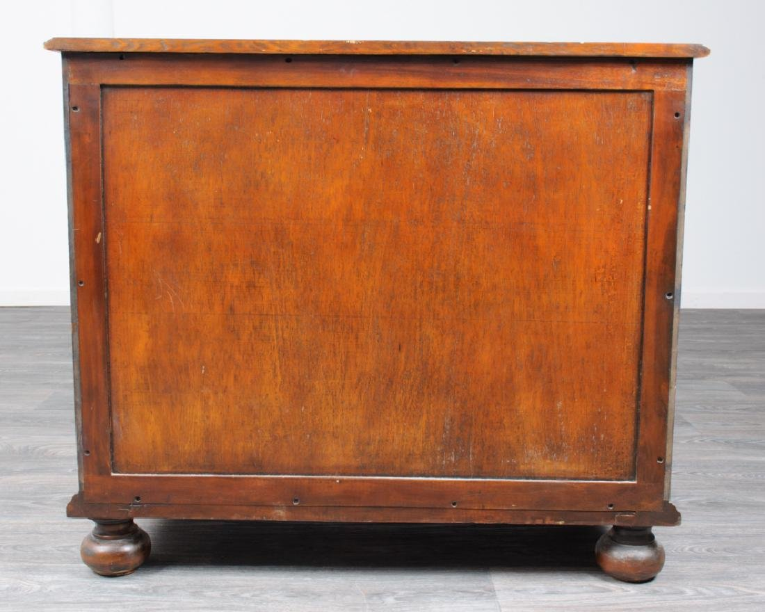 Jacobean Style Marquetry Chest of Drawers - 6