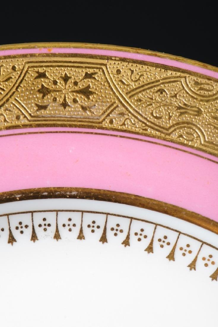Minton Davis Collamore Pink & Gilt Salad Plates - 3
