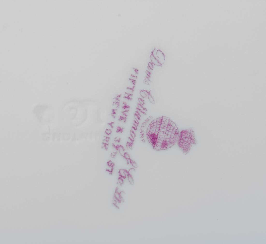 Minton Davis Collamore Pink & Gilt Salad Plates - 4
