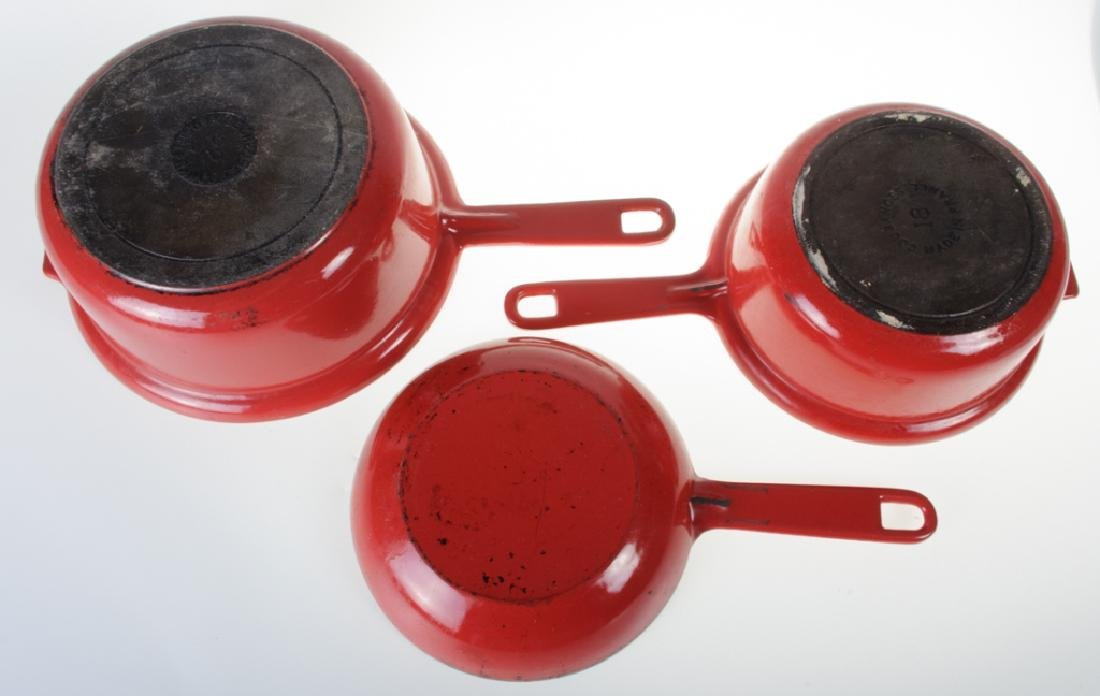Le Creuset Sauce Pan & Two-In-One Pan - 10