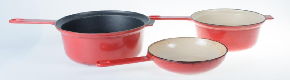 Le Creuset Sauce Pan & Two-In-One Pan - 5