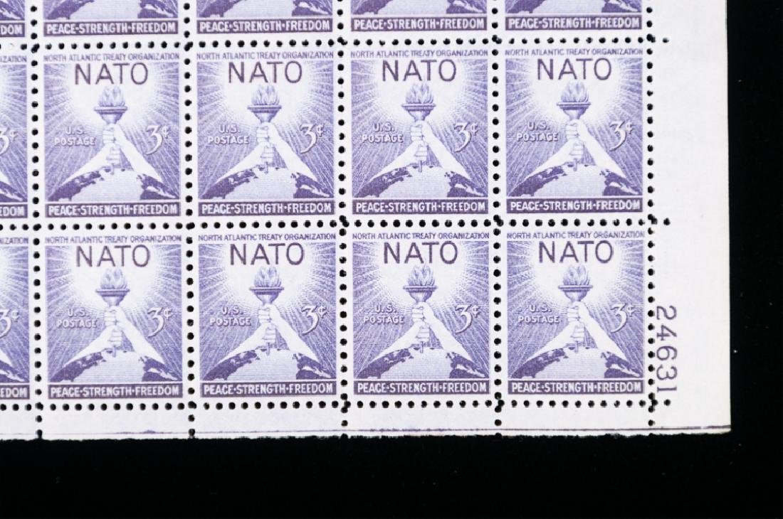 Mint Sheets of Stamps, NATO Included, 2 P. - 3