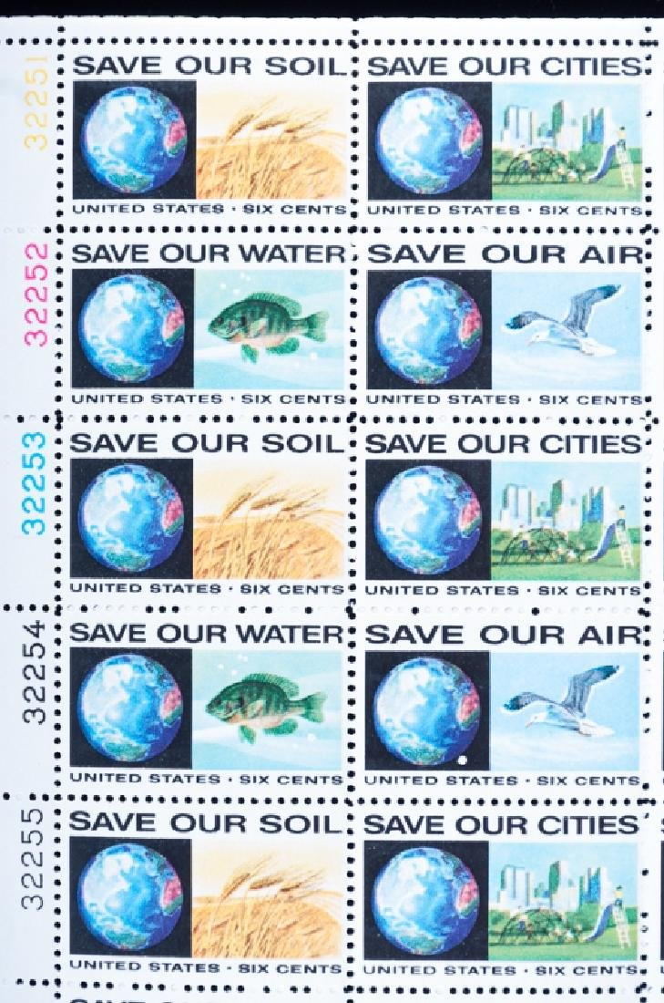 Mint Sheets of Stamps, Environmental, 5 P. - 10