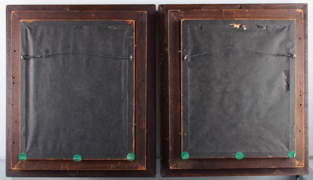 Aesthetic Movement Picture Frames Pair, 19th C - 5