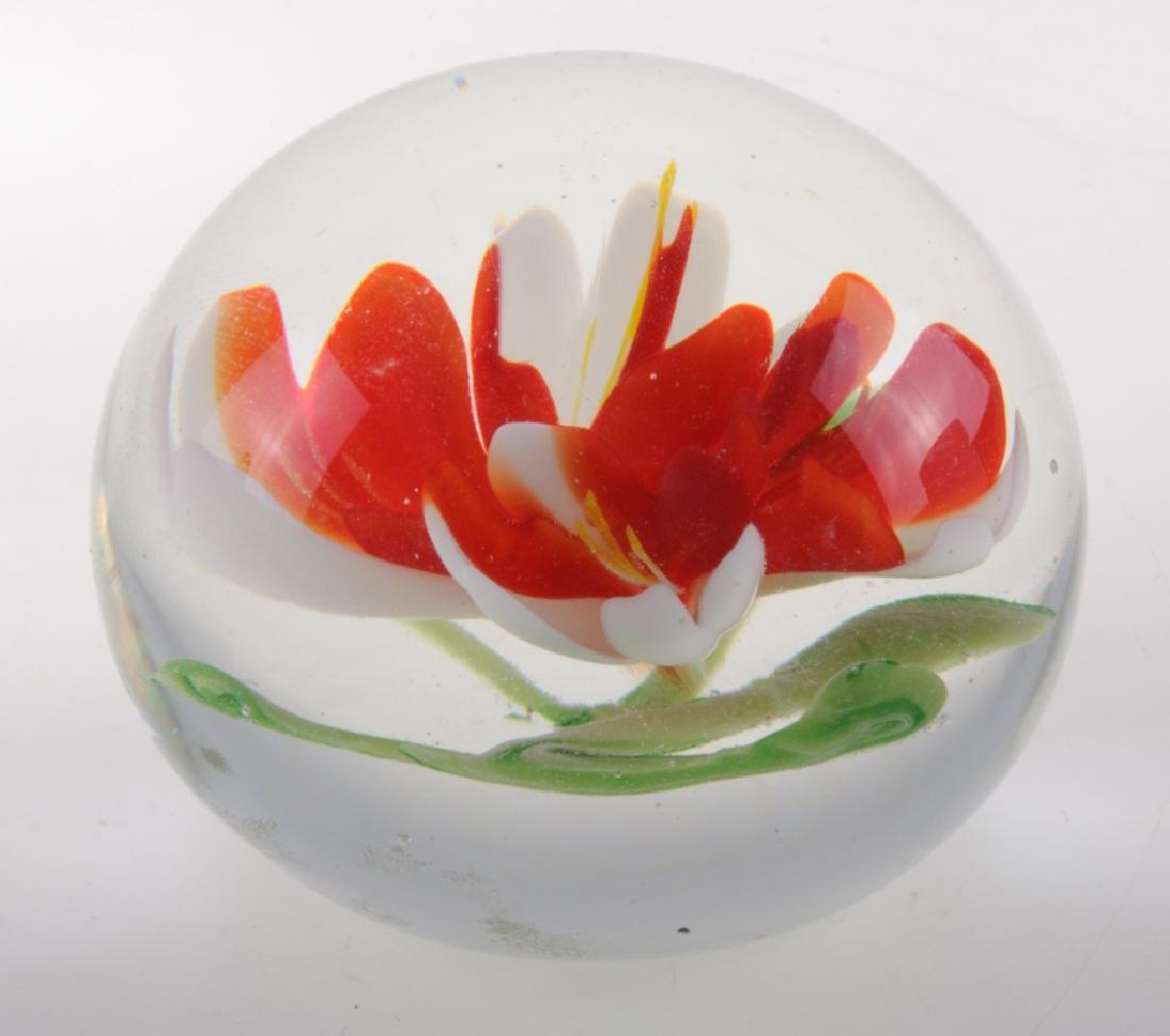 Art Glass Paperweights - 8