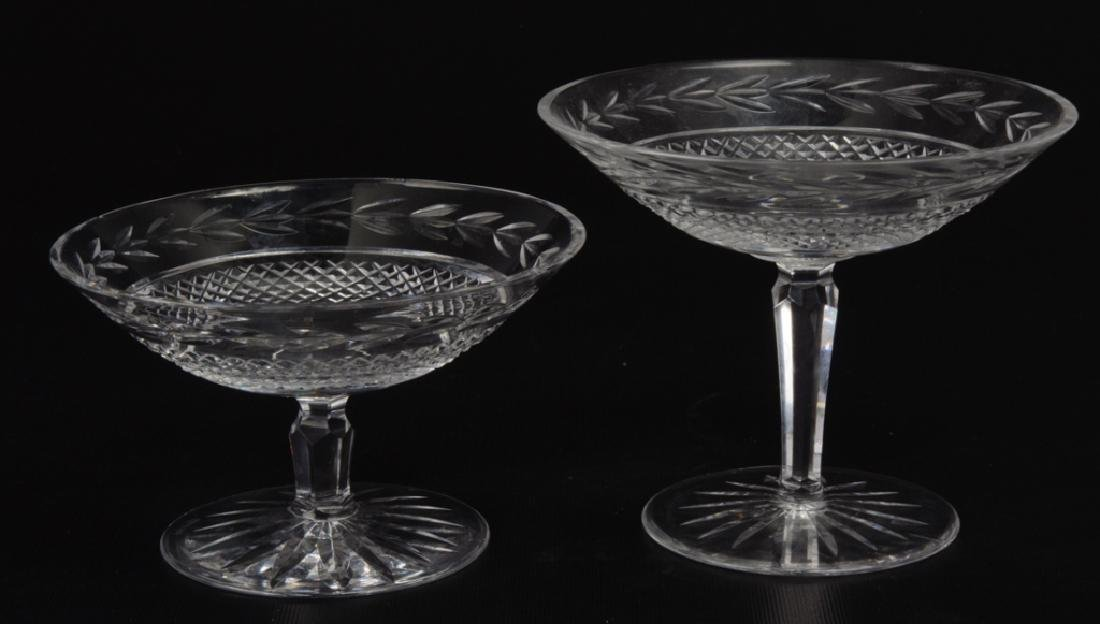 Waterford Glandore Footed Crystal Compotes