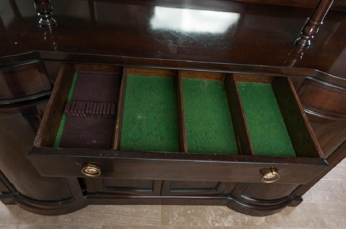 Mahogany Continental Sideboard Cabinet - 10