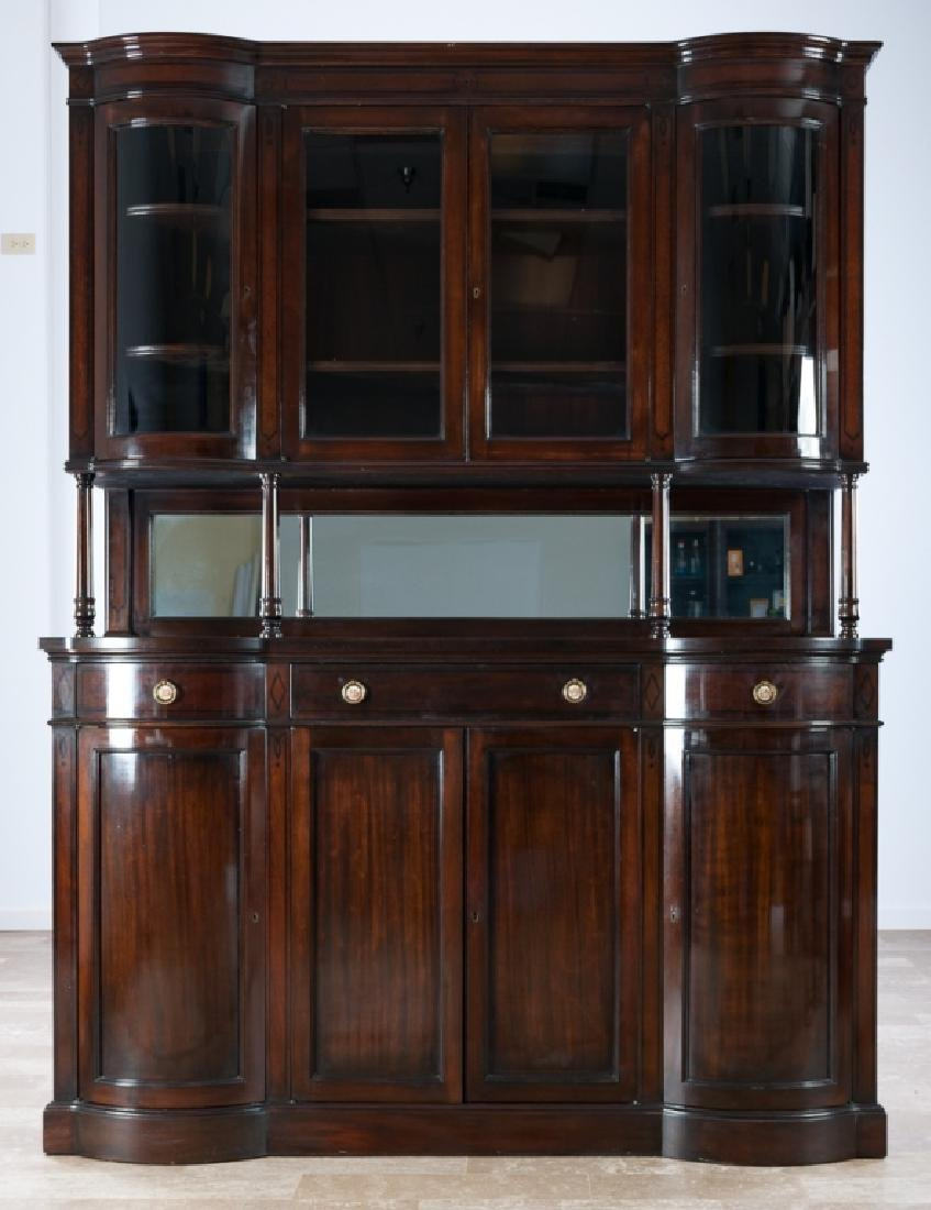 Mahogany Continental Sideboard Cabinet