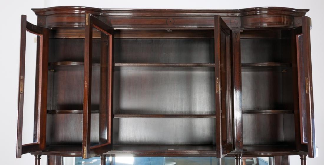 Mahogany Continental Sideboard Cabinet - 7