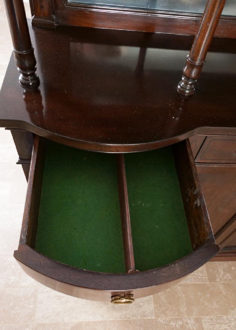Mahogany Continental Sideboard Cabinet - 9