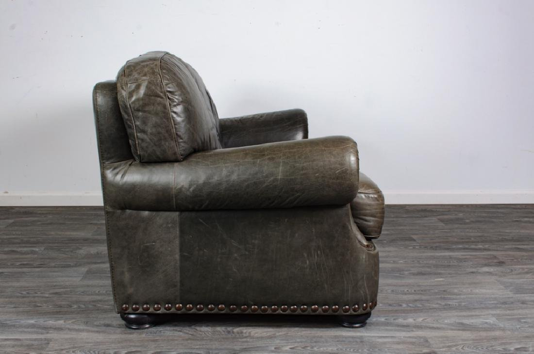 Leather Loveseat - 5